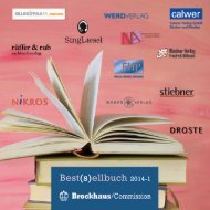 Best(s)ellbuch 2014-1 - Brockhaus Commission