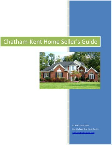 Chatham-Kent Home Seller's Guide - Top Producer® Websites ...