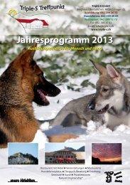 Jahresprogramm 2013 - Triple-S