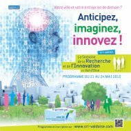 Programme SRI2012 - ENSEA
