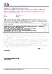 Fiches Evaluation STL - Ministère de l'Éducation nationale