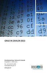 Broschüre Graz in Zahlen 2013
