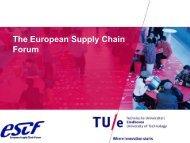 The European Supply Chain Forum