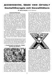 1. Gesellschaft im Umbruch / Woher kommt die Gewalt