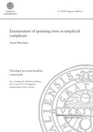 Enumeration of spanning trees in simplicial complexes