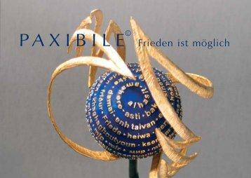 Booklet zur Paxibile-Preisverleihung 2011 als PDF download