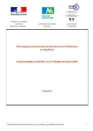 Plan régional de prévention et de lutte contre l'illettrisme en ... - drjscs