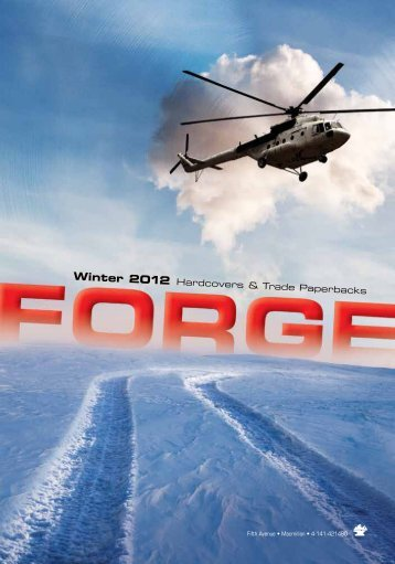 Winter 2012 Forge Frontlist Catalogue (PDF) - Raincoast Books