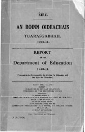 1940-1941 - Department of Education and Skills