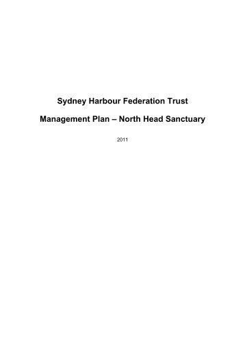 Management Plan - North Head Sanctuary, Part 1 - Sydney Harbour ...