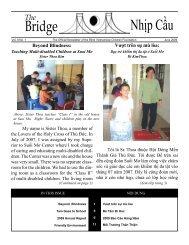 Bridge Nhịp Cầu - Blind Vietnamese Children Foundation