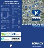 Flyer Downloaden - City-Marketing Bonn eV