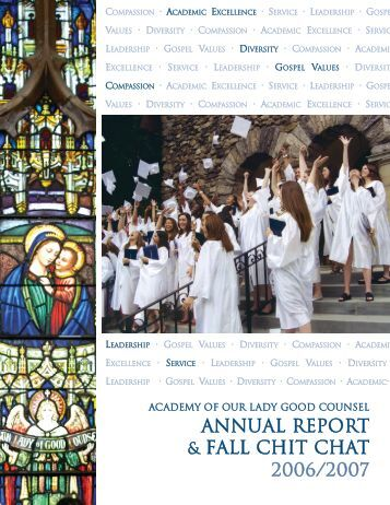 Annual Report 2006-2007.pdf - Academy of Our Lady of Good ...