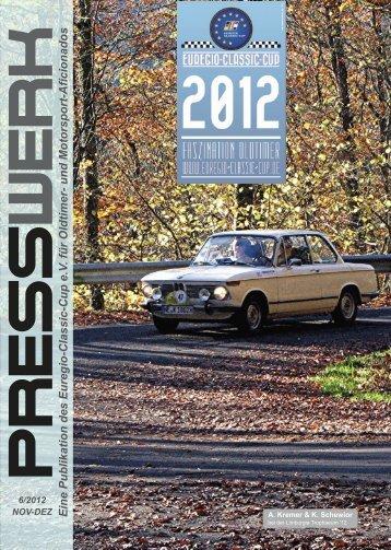 PRESSWERK Vol. 6/2012 - Euregio-Classic-Cup