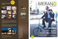 Meran-o Magazine Sommer 2013 - Meraner Land