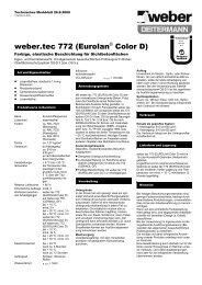 weber.tec 772 (Eurolan® Color D)