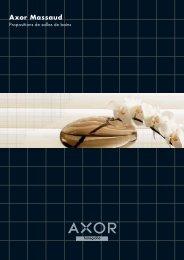 Aide à la conception Axor Massaud - Hansgrohe