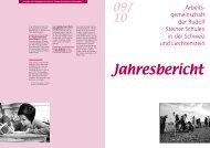 Arbeits- gemeinschaft der Rudolf Steiner Schulen in der ... - Schulkreis