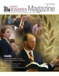 Ignatius Magazine - 2009 Winter - St. Ignatius College Prep