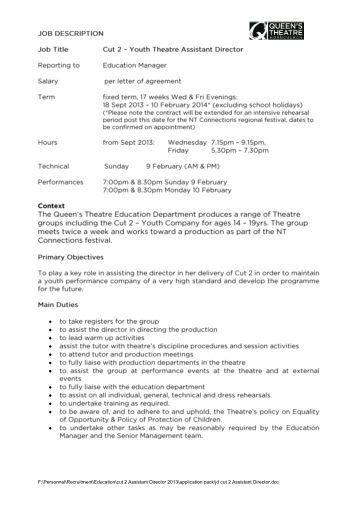 Support Staff Positions Job Description: District Accounting