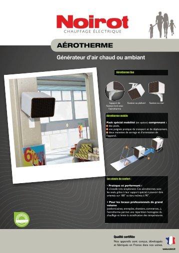 AÉROTHERME - Radiateur Plus