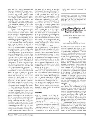 Journal Impact Factors and Self-Citations: Implications ... - APA Style