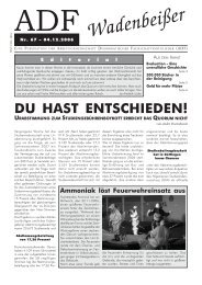 Wadenbeißer Nr. 67 vom 04.12.2006 [PDF] - ADF ...