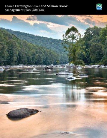 Lower Farmington River and Salmon Brook Management Plan June ...