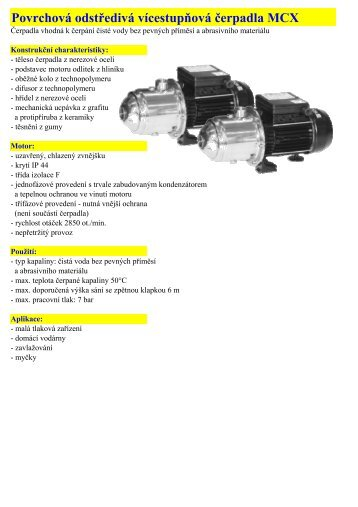 MCX 200 - Mirad