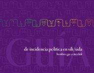 Guía de incidencia política en vih/sida - POLICY Project