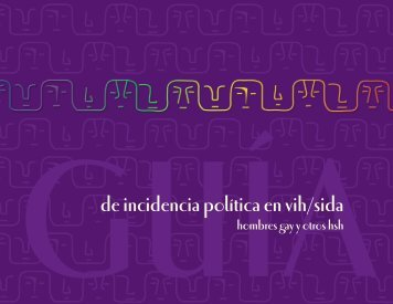 Guía de incidencia política en vih/sida - POLICY Project