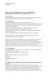 Arbejdsgruppe vedr. registrering og terminologi 24. september 2007