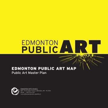 Public Art - Edmonton Arts Council