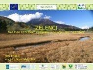 Predstavitev projektnega območja Zelenci, pred odhodom na ogled