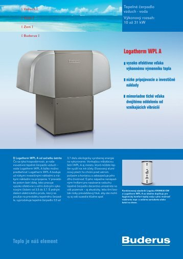 Logatherm WPL A - Buderus