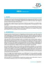 HBO58 FEBRUARI 2011 - Vlaamse Vereniging van Studenten