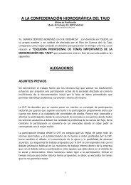 Particular (Blanca Céspedes González). - Confederación ...