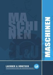 Katalog als PDF downloaden - Lackner & Urnitsch