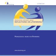 REFLECTIONS ON eTWINNING