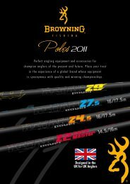Designed in the UK for UK Anglers - Zebco