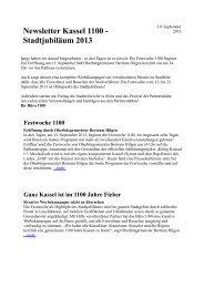 Newsletter 10. September 2013 - kassel-oberzwehren.de
