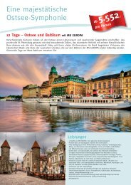 Eine majestätische Ostsee-Symphonie - Die Perfekte Kreuzfahrt