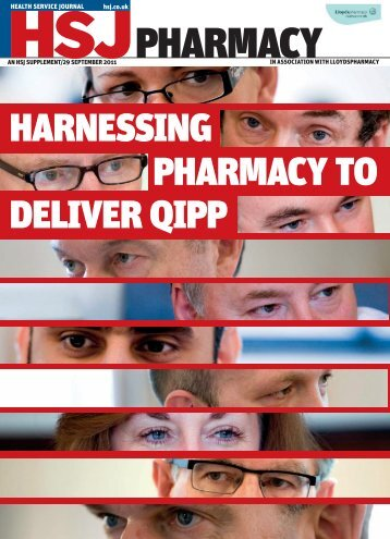 HSJ and Lloyds Pharmacy supplement September 2011