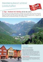 Atemberaubend schöne Landschaften - Die Perfekte Kreuzfahrt