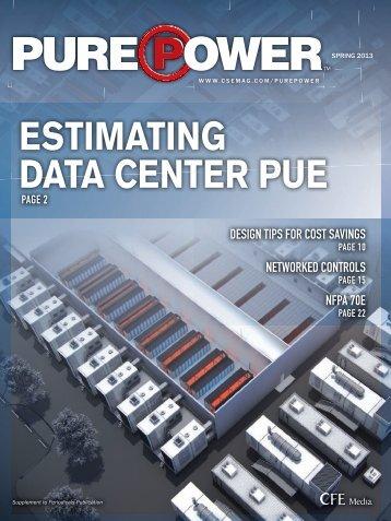 ESTIMATING DATA CENTER PUE - PageSuite