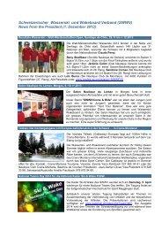 News Deutsch 20131201.pdf - Fédération Suisse de Ski nautique et ...
