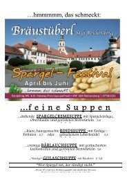 SPARGEL - Stift Reichersberg
