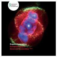 Expert Committee European Space Sciences Committee ESSC