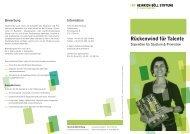 Heinrich-Böll Stiftung Flyer
