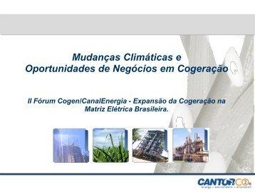 Mudanças Climáticas e Oportunidades de Negócios em ... - Cogen
